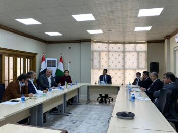 Director general of JCC chaired a joint meeting with several key governmental and Non-Governmental Partners